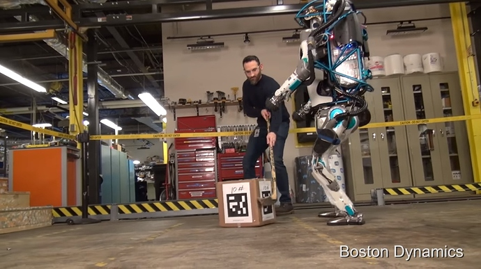 Humanoid robot from Boston Dynamics 2
