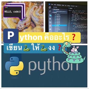 Python คืออะไร ไพธอน คืออะไร