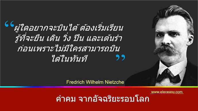ปกคำคม_Friedrich Wilhelm Nietzsche
