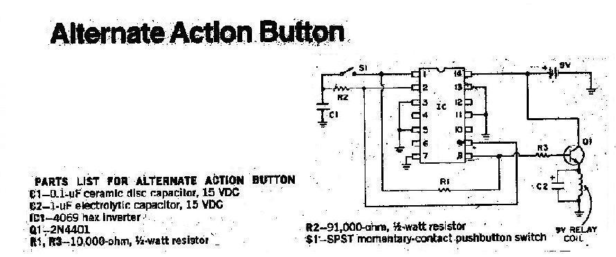 วงจร Alternate Action Button