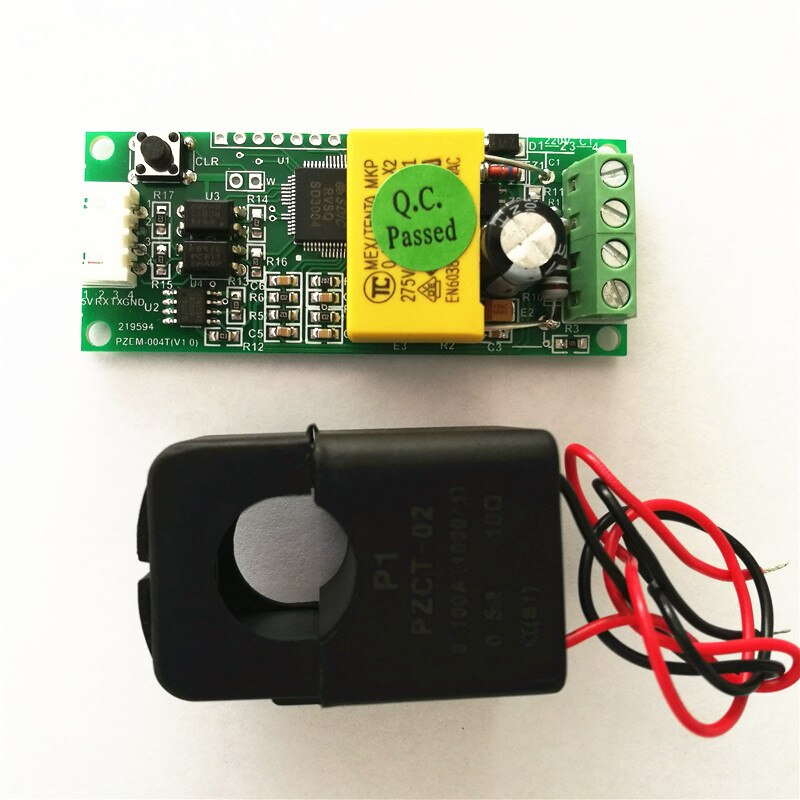 PEACEFAIR-AC-Single-Phase-Multifunction-Ampere-Meter-Watt-Power-Volt-Amp-TTL-Current-Meter-PZEM-004T