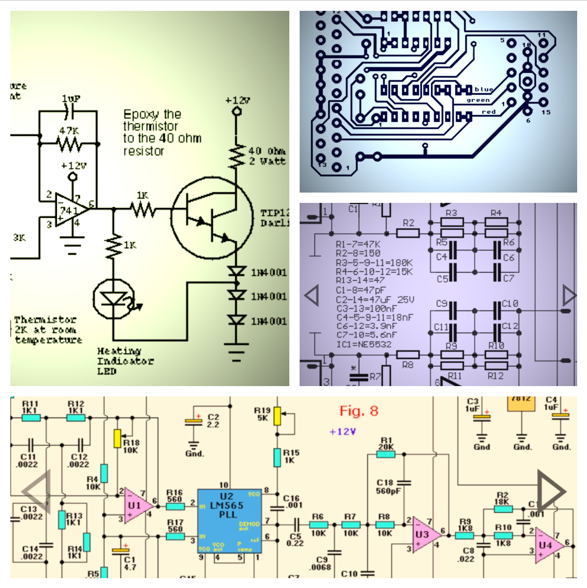 Magnetic Pickup Preamplifier Circuit Electronic Circuits And
