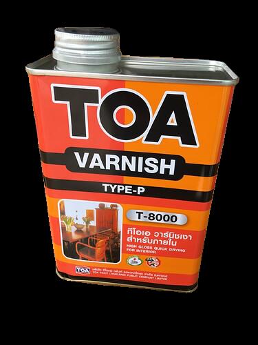 TOA Varnish T-8000-1